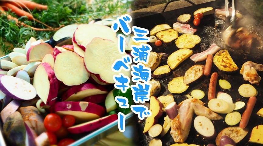 【神奈川・三浦】畑から見渡す三浦海岸!絶景BBQと野菜収穫〜子どもはトラクター体験も〜