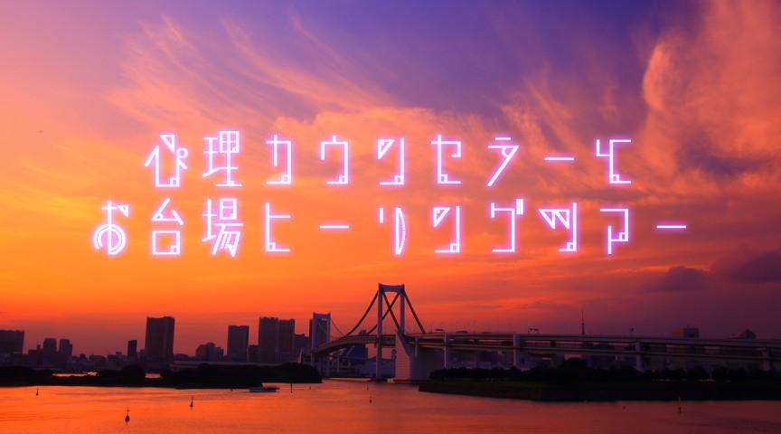 【東京・お台場】心理カウンセラーと癒しのサンセットウォーク!~お台場海浜公園ヒーリングツアー~