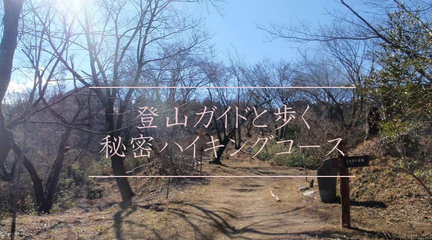 【東京】プロの登山ガイドと歩く!ガイドブックには載っていない隠れハイキングコース!~秘密の滝と洞窟へ~