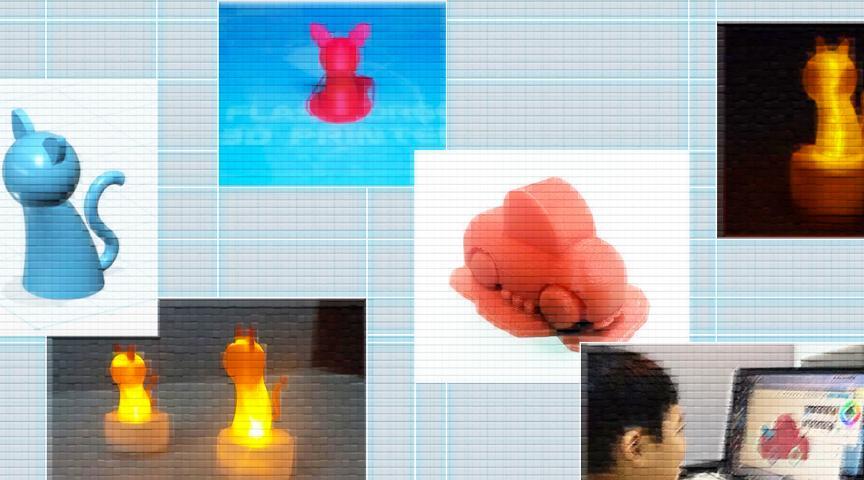 【大阪府】3Dプリンタを使ってマスコットランプを作ってみよう!