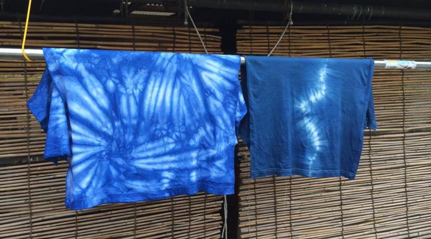 【兵庫・神戸市】美しき「藍染め」でオリジナルTシャツ作り!!