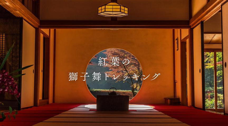 【鎌倉】地元ネイチャーガイドと行く、紅葉の獅子舞トレッキング!<街歩き>