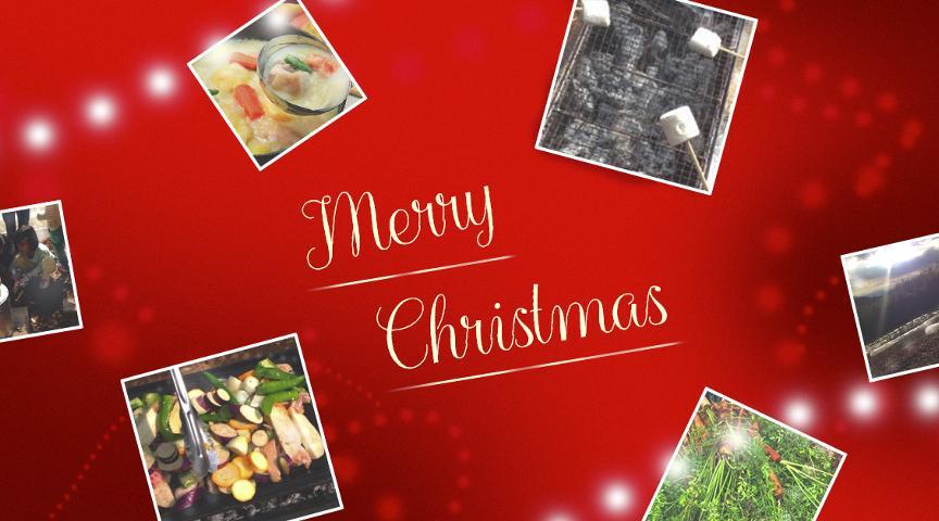 【東京・町田の森でクリスマス】自然の中でクリスマスを楽しもう!取れたて野菜と鹿肉のロースト、あったかクリームシチューと落ち葉たき