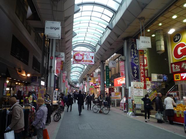 東京を代表するアーケード商店街の一つ