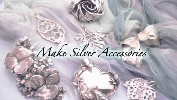 【兵庫・宝塚】一日でできる自分だけの純銀アクセサリーを作ろう!〜銀粘土でちょっと豪華な大人の装いを〜