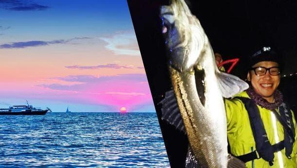【夜釣りナイト】鳥の群れ、魚の群れを目指して、船長が船で導いてくれる夜釣りの旅〜東京湾・シーバス〜