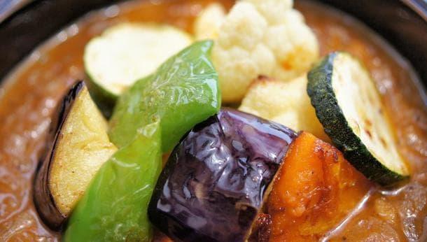 【こだわり野菜でカレーを満喫!】肥料、農薬一切ナシ!土と野菜本来の力で育った野菜を使ったカレーを味わってみよう!