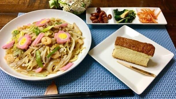 女性のための郷土料理。長崎皿うどんとカステラをご家庭で作ってみましょう!