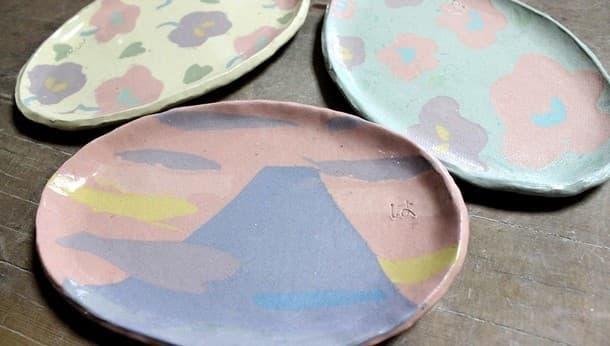 【三軒茶屋で陶芸体験】飾っても素敵!ゆめかわ♪器作り体験!