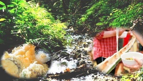 1日遊べる!奥丹波の森で、竹の切り出しから作る流しそうめん&ジャム作り