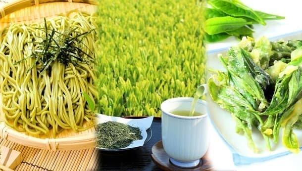 『茶炭そば』と『茶葉の天ぷら』が味わえる。今しかできない、お茶摘み&茶そば打ち体験!