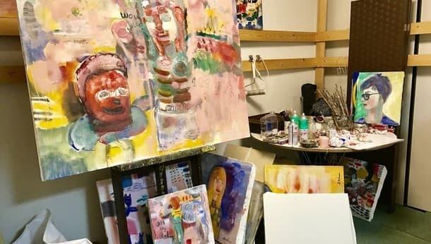 """画家と歩く隠れた芸術家の街""""浦和""""。自由に絵を描いた後は絶品料理を堪能"""