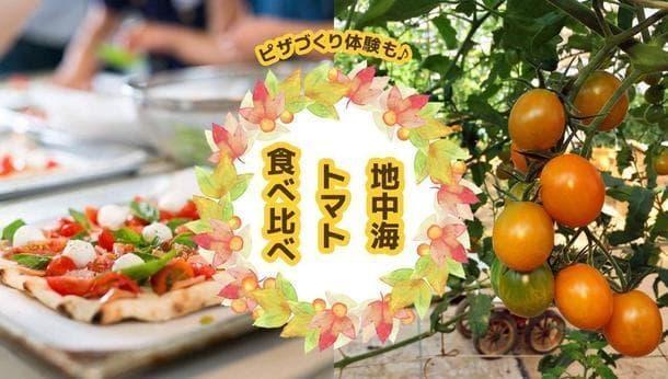 【兵庫・神戸】あなたの知らないトマトの世界にようこそ!〜マウロの地中海トマト食べ比べ&ピザづくり体験〜