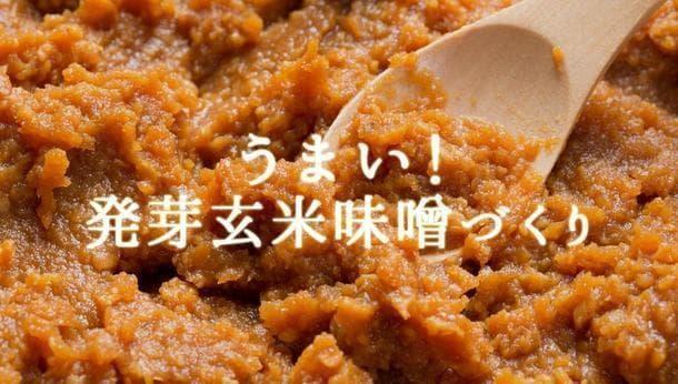【千葉県香取郡】うまい!自然栽培の発芽玄米味噌づくり