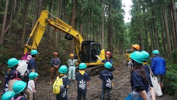 森の手入れをしよう! 間伐見学&間伐材でmy箸づくり
