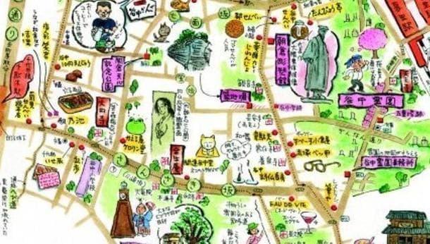注目の下町・歴史と情緒が入り交じる谷中を巡る旅! 〜絵地図師・高橋美江さん〜