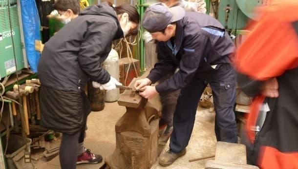 鉄のまちで鉄ものづくり △tetsumono△ 工場見学